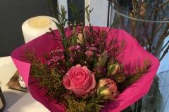 Vielen Dank für die vielen schönen Blumen zur Eröffnung!